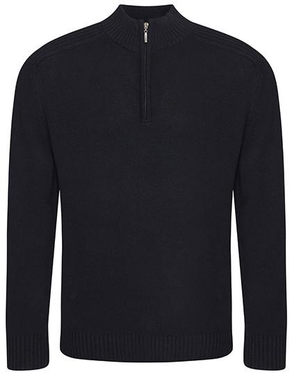 EA061 Ecologie Wakhan 1/4 Zip Knit Sweater
